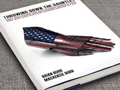 Book Cover Design : Author Brian Burr