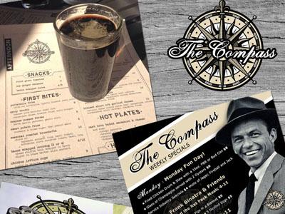 Restaurant Branding : The Compass
