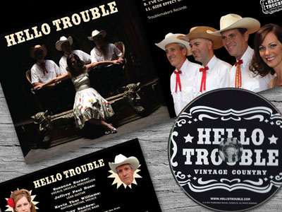 Band Branding : Hello Trouble