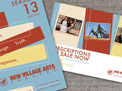 New Village Arts Theatre 2013-'14 program