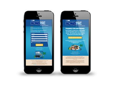 Mobile App Design : Kona Ice