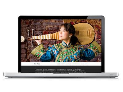 Website Design: Wu Man